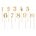 11-numéros-table-doré