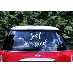 Sticker-voiture-Just-Married