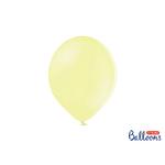 10 ballons Jaune - Pastel- 30 cm