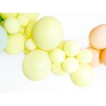 ballons Jaune - Pastel- 30 cm