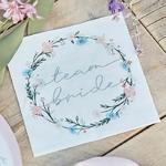 serviette-EVJF-boho-floral