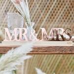 Lettre-Mr-Mrs-Acrylique-Rose-Gold