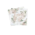 serviette-evjf-team-bride-floral