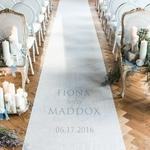 tapis-mariage-vintage-personnalisé