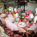 chemin-table-rose-gold-pailleté