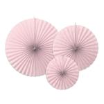 3-rosaces-papier-rose