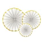3-rosaces-blancs-bordure-dorée