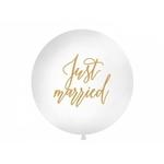Ballon géant %22Just Married%22