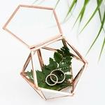 Boite à alliances hexagonale cuivre