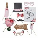 Kit à Photobooth Bohème Chic Floral présentation