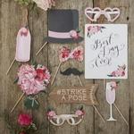 Kit à Photobooth Bohème Chic Floral