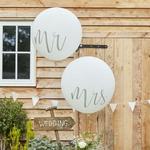 Ballon Géant Mr & Mrs 91 cm