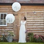 Ballon Géant Mr & Mrs 91 cm présentation