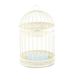 Urne mariage cage blanche