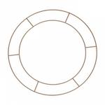 3 Cercles en Cuivre 40 cm Metal schema