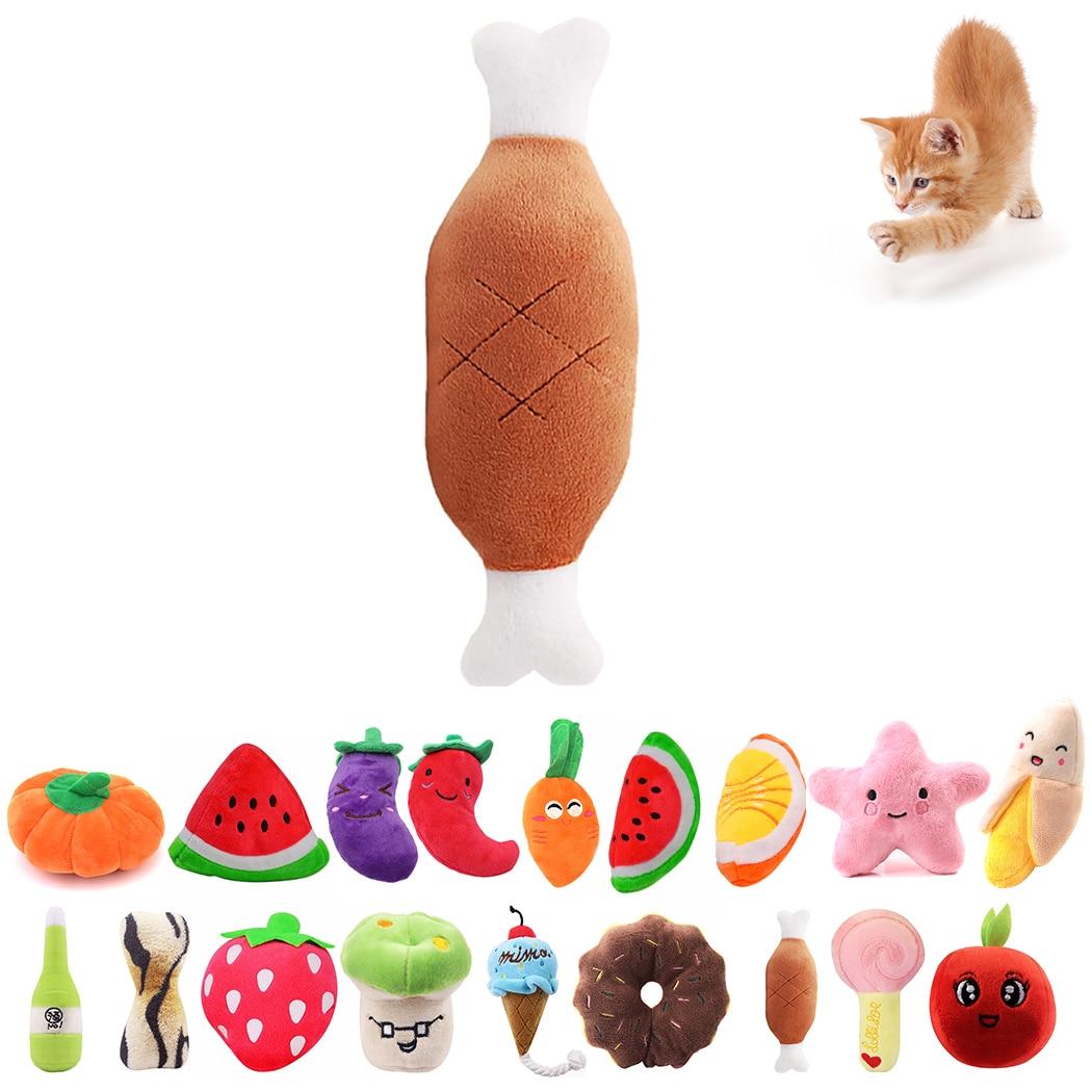 Jouets-en-peluche-chien-chat-forme-de-dessin-anim-Fruit-nourriture-mignon-jouet-r-sistant-aux