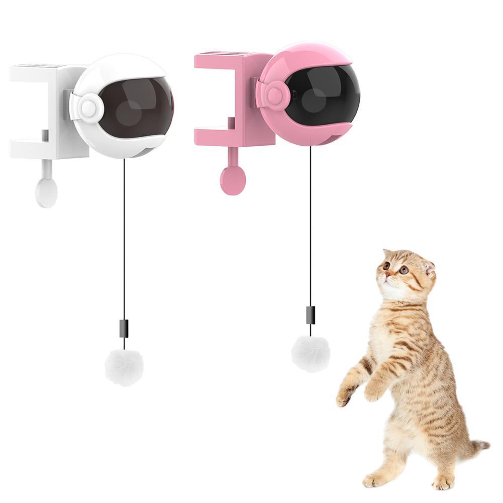 Boule-de-Teaser-pour-chats-lectrique-Nouveau-jouet-en-forme-de-chat-tige-ressort-levage-automatique