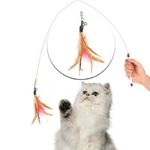 Canne-p-che-douce-pour-chat-Jouet-plume-souple-pour-chat-baguette-pour-chat-cloches-flexibles