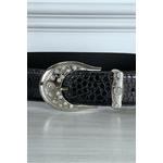 ceinture-noire-effet-reptile-a-boucle-brillante (1)