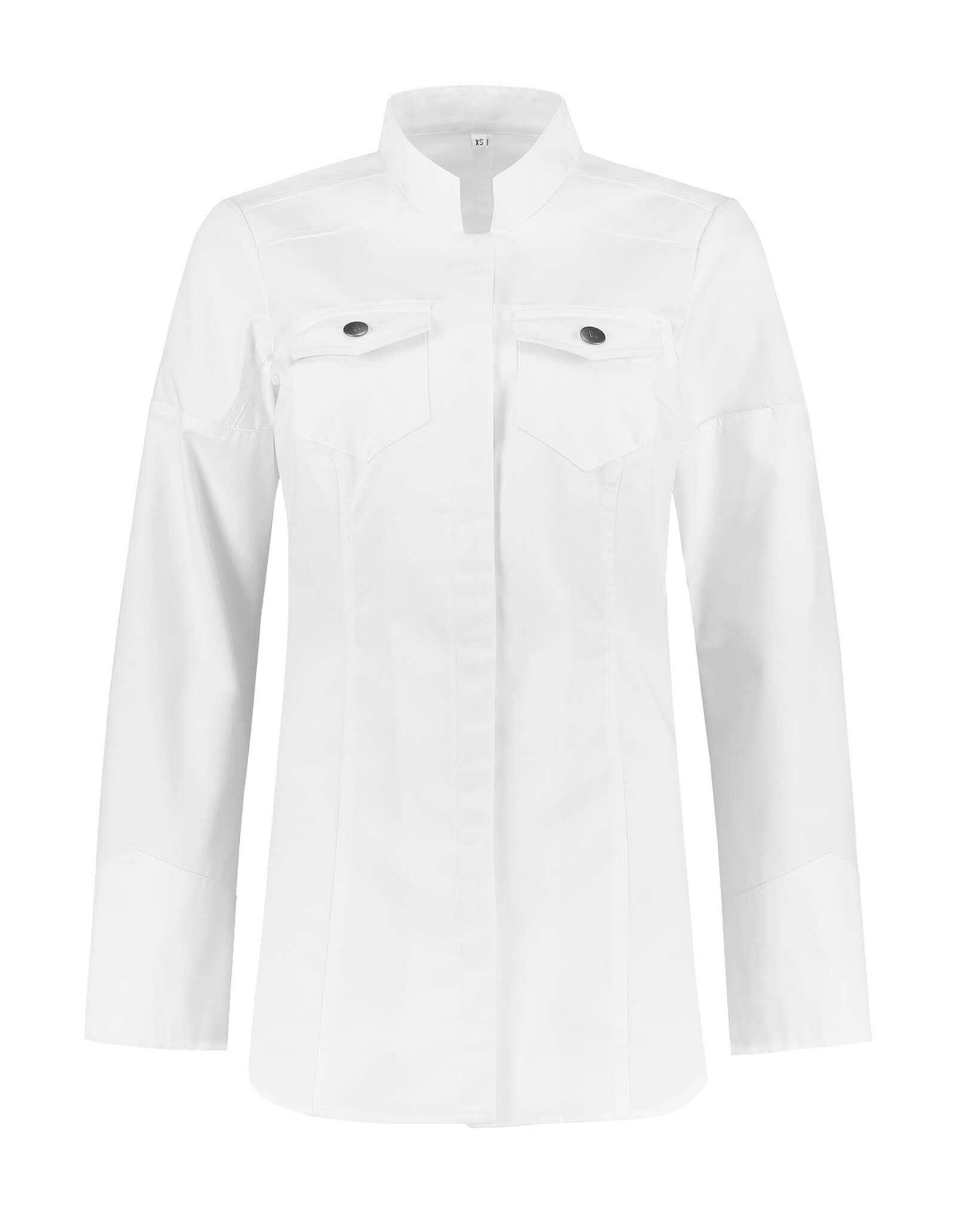 Veste Cuisine Ladies Texas Blanc
