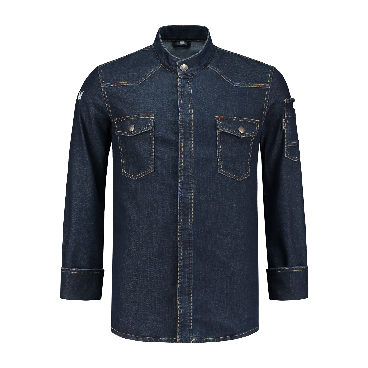 Veste Cuisine Texas Washed Blue Denim