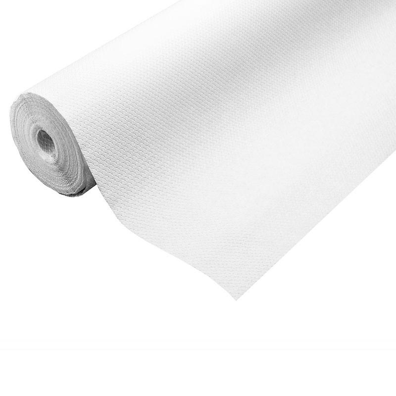 Nappe en papier blanc
