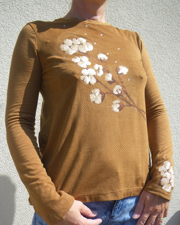 Tee-shirt Fleurs de Coton