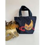 sac coton bleu masque venise (3)
