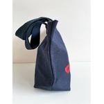 sac coton bleu masque venise (5)