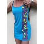 robe de plage bleue wax (2)