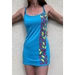 robe de plage bleue wax (3)
