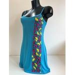 robe de plage bleue wax (4)