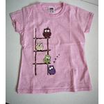 t-shirt-enfant-rose-hiboux-rigolos