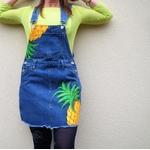 salopette-femme-jean-ananas