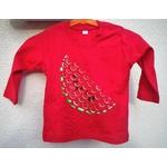 t-shirt-bébé-rouge-pastèque