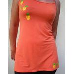 robe nuisette orange avec ananas