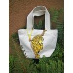 sac en coton bio avec tigre