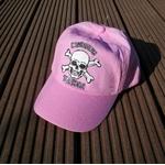 casquette-enfant-rose-pirates