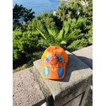 casquette enfant orange attrape-rêves