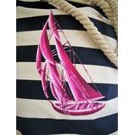 sac marin à cordons avec voilier