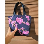 petit-sac-coton-bio-bleu-fleurs-cerisiers