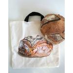 Sac à pain avec miche peinte à la main (4)