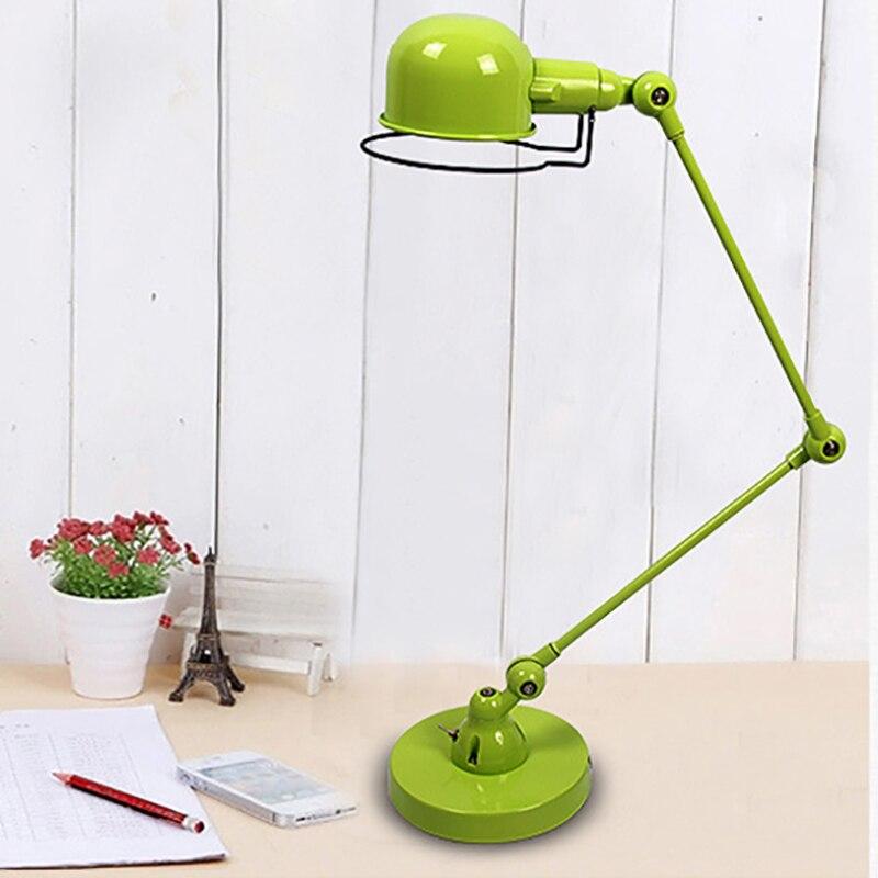 Lampe de bureau articulée style industriel