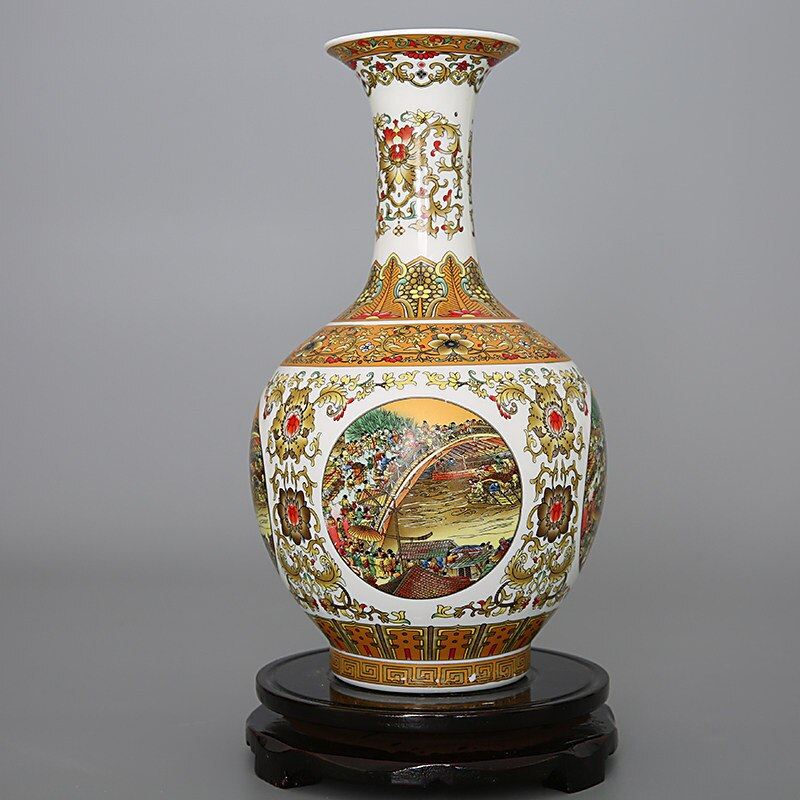 Vases traditionnels chinois
