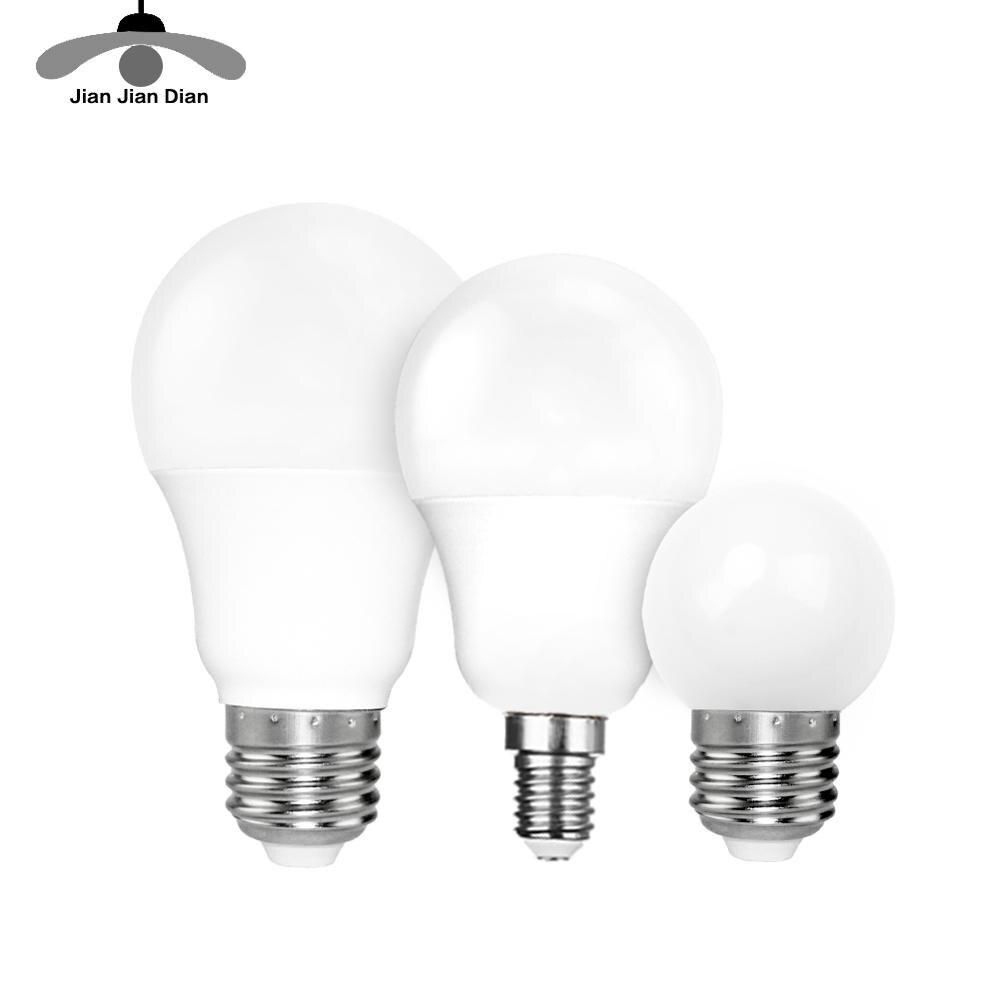 Ampoules led E 14 et E 27