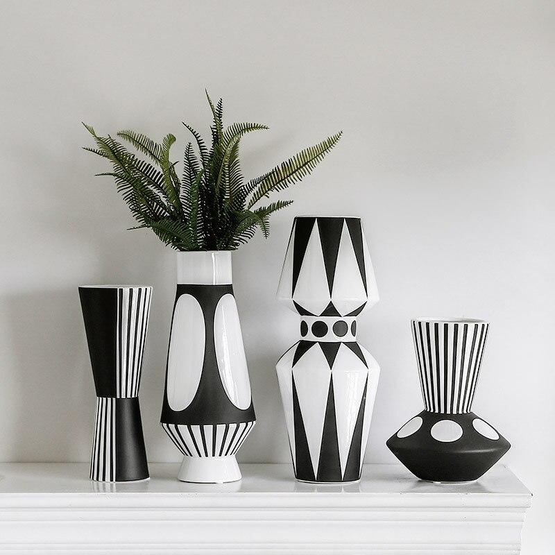 Vases motifs modernes créatifs