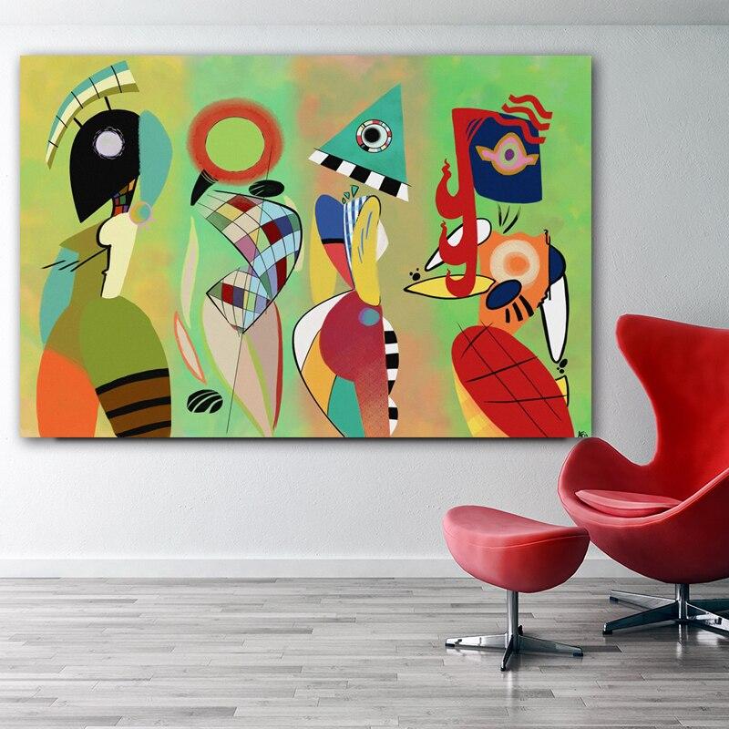 Las musas de Kandinsky