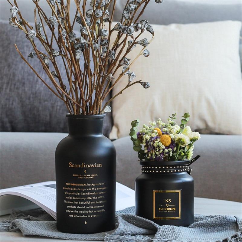 Vases en verre style nordique