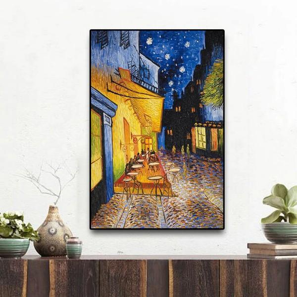 Van Gogh La terrasse du café