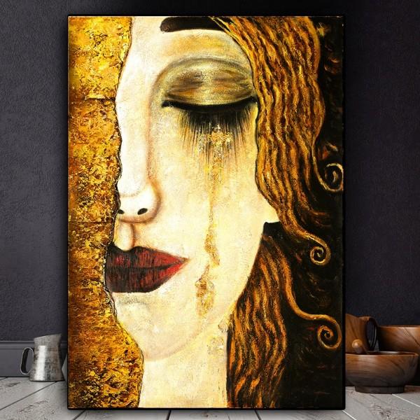 Gustav Klimt Les larmes de Freya